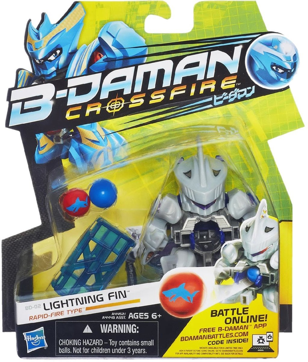 B-Daman Crossfire BD-02 - Lightning Fin