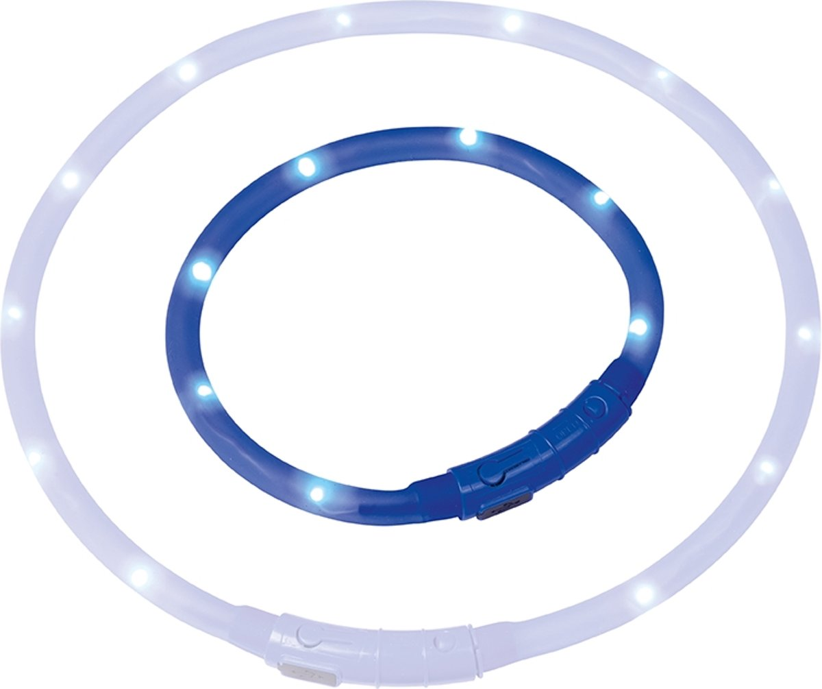 Nobby Starlight Lichtkoord Regelbare Flash Frequentie - Blauw - 40 cm kopen