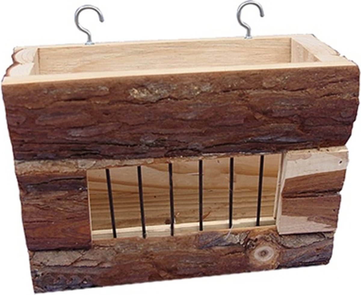 Happy Pet Raw Wooden Hayrack - Speelgoed - Naturel
