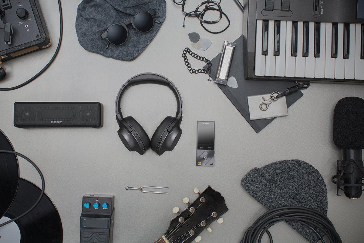 Sony Hear Mdr 100abn Draadloze Hi Res Audio Over Ear In Wireless Headset Ex750bt Viridian Blue Koptelefoon Met Noise