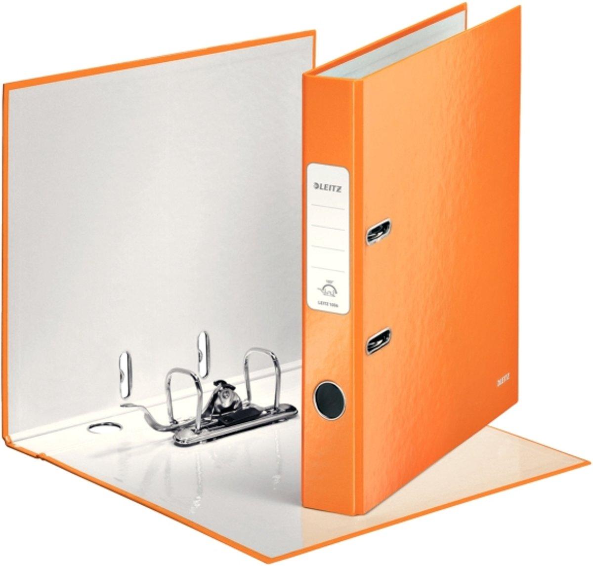 orange metallic Leitz 1006 Ordner WOW A4-50 mm