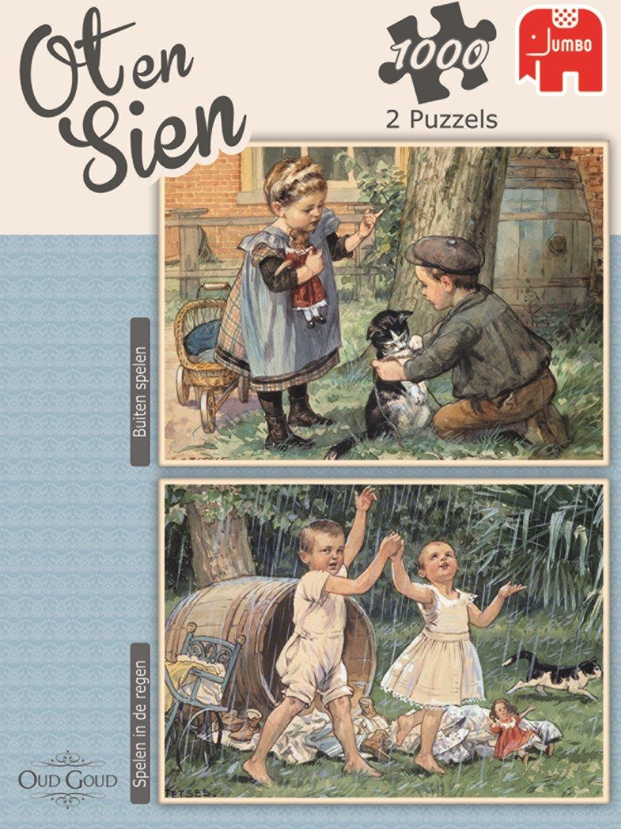 1f8cea3006a Puzzel Ot en Sien 2 x 1000 pcs