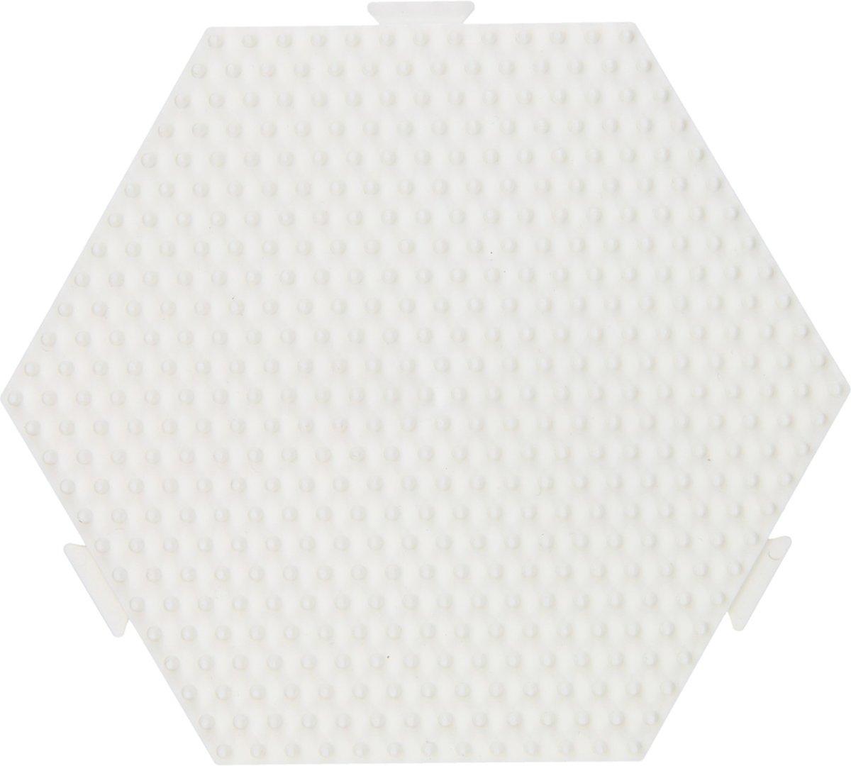 Hama Strijkkralenbordje - Zeshoek
