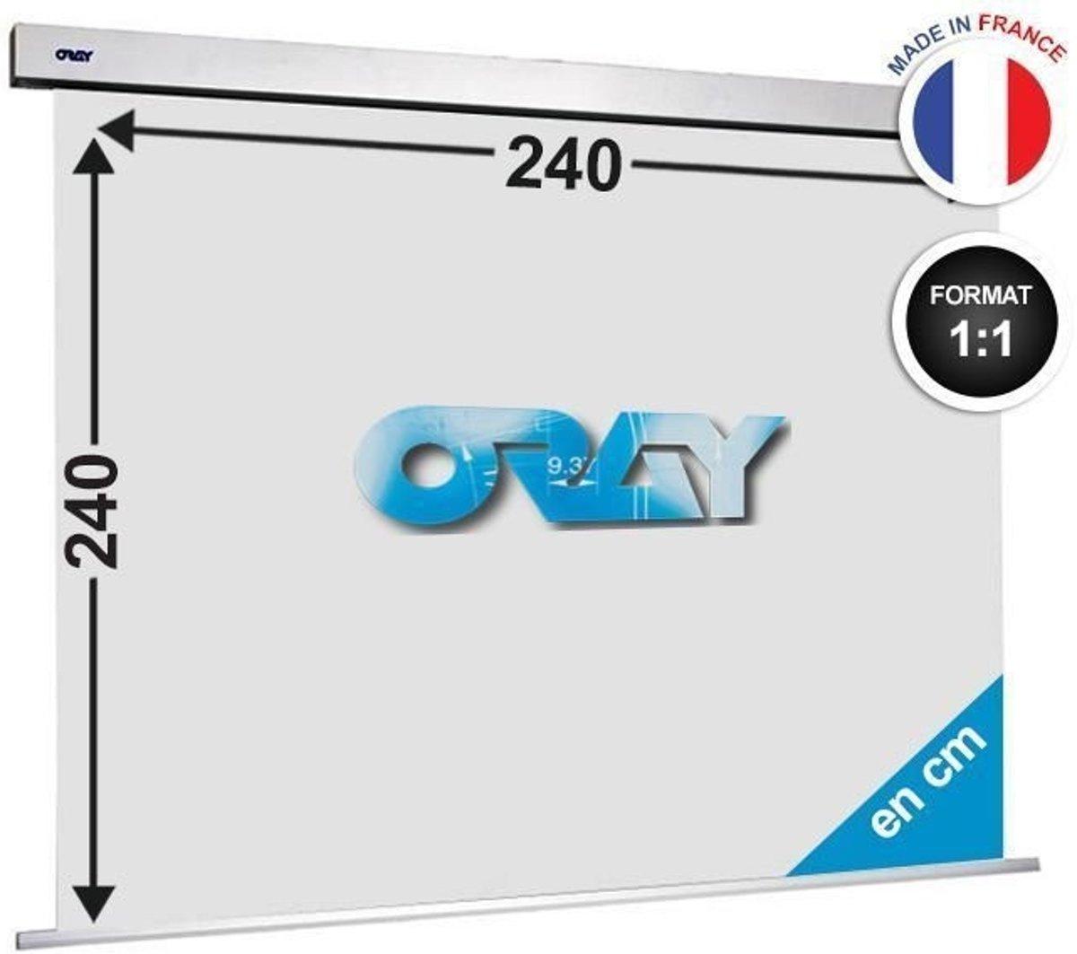 ORAY Squar'PRO matt white 240x240 SQ1B1240240 kopen