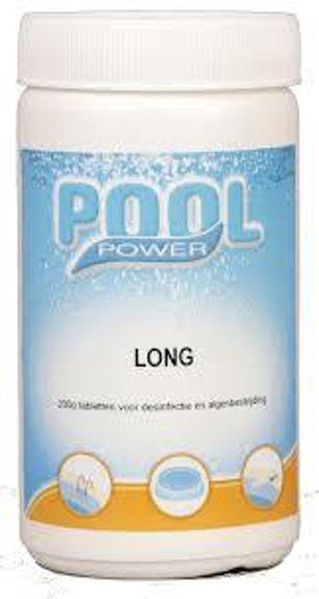 Pool Power long 200 gr. 1 kg uitsluitend voor België