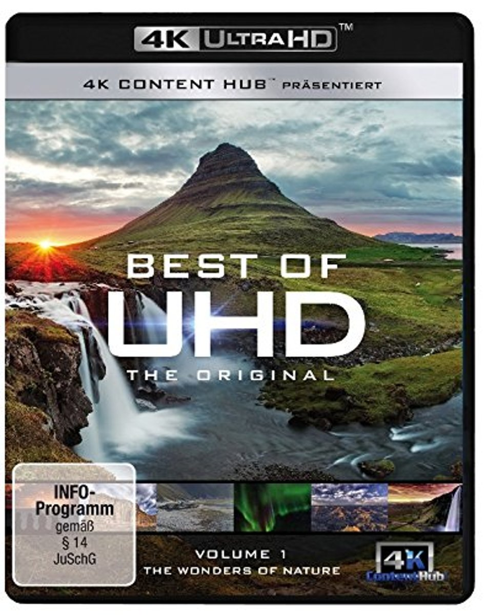 Best of UHD: The Original Vol. 1 - Wonders of Nature/Blu-ray-