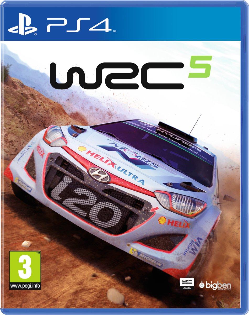 Wrc 5 World Rally Championship Ps4 Bigben Interactive Sony 6 Fia Games