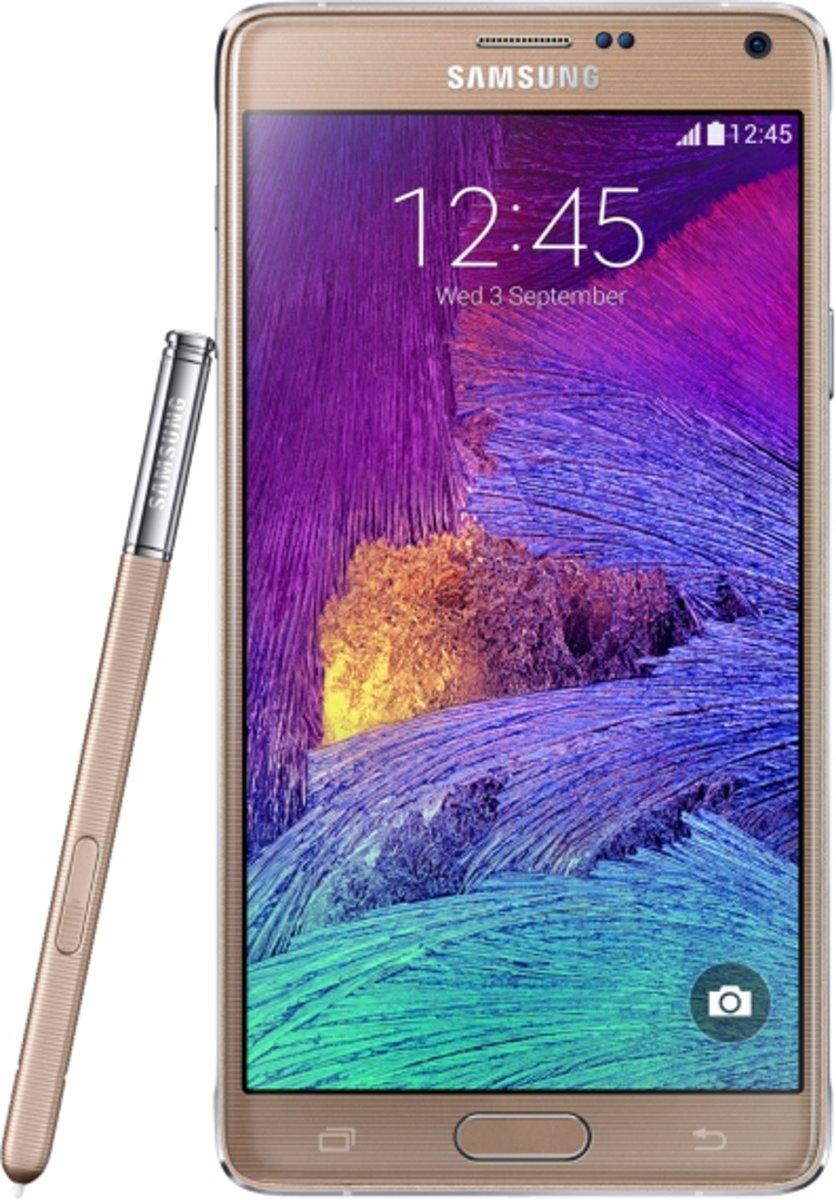 Samsung Galaxy Note 4 SM-N910F Single SIM 32GB Goud kopen