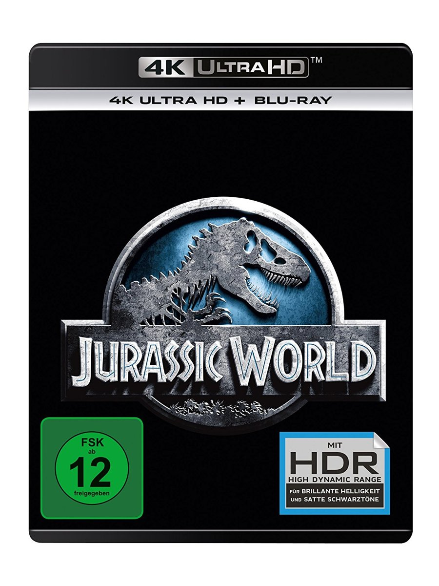 Jurassic World (Ultra HD Blu-ray & Blu-ray)-