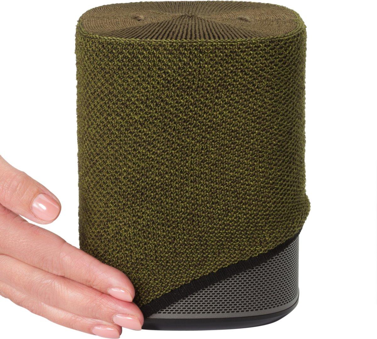 Soundskins - voor Sonos One - Luxe cover - Olive Green/Olijf Groen kopen