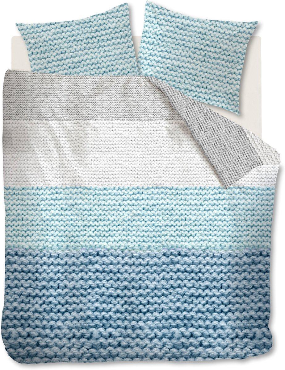 Ariadne at Home Mixed - Dekbedovertrek - Lits-jumeaux - 240x200/220 cm - Blauw kopen