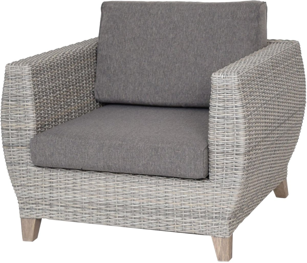 Mairo Lounge Chair Weathered Grey kopen