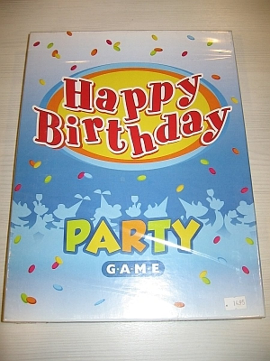 Happy Birthday Party Game