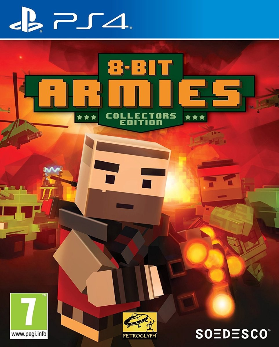 8 Bit Armies Collector's Edition PlayStation 4