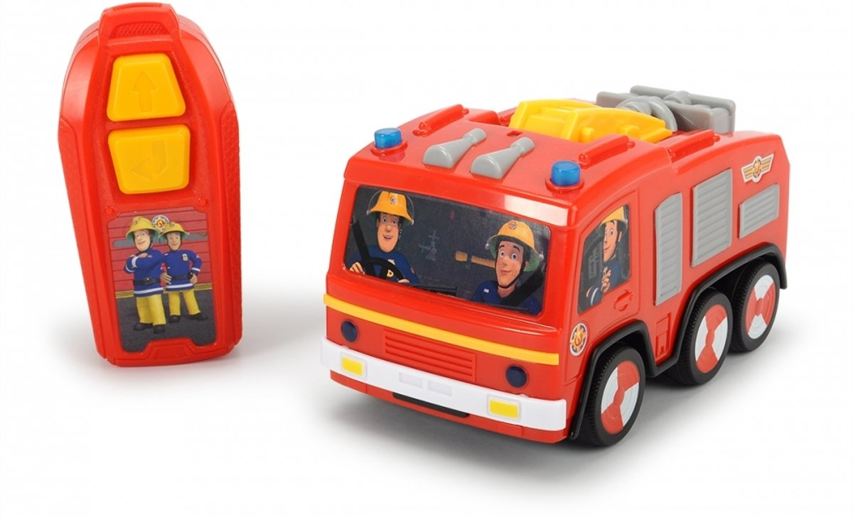 Brandweerman Sam - IRC Jupiter brandweerwagen (14cm)