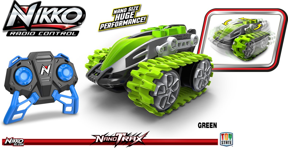 Nikko NanoTrax? Groen - Bestuurbare auto