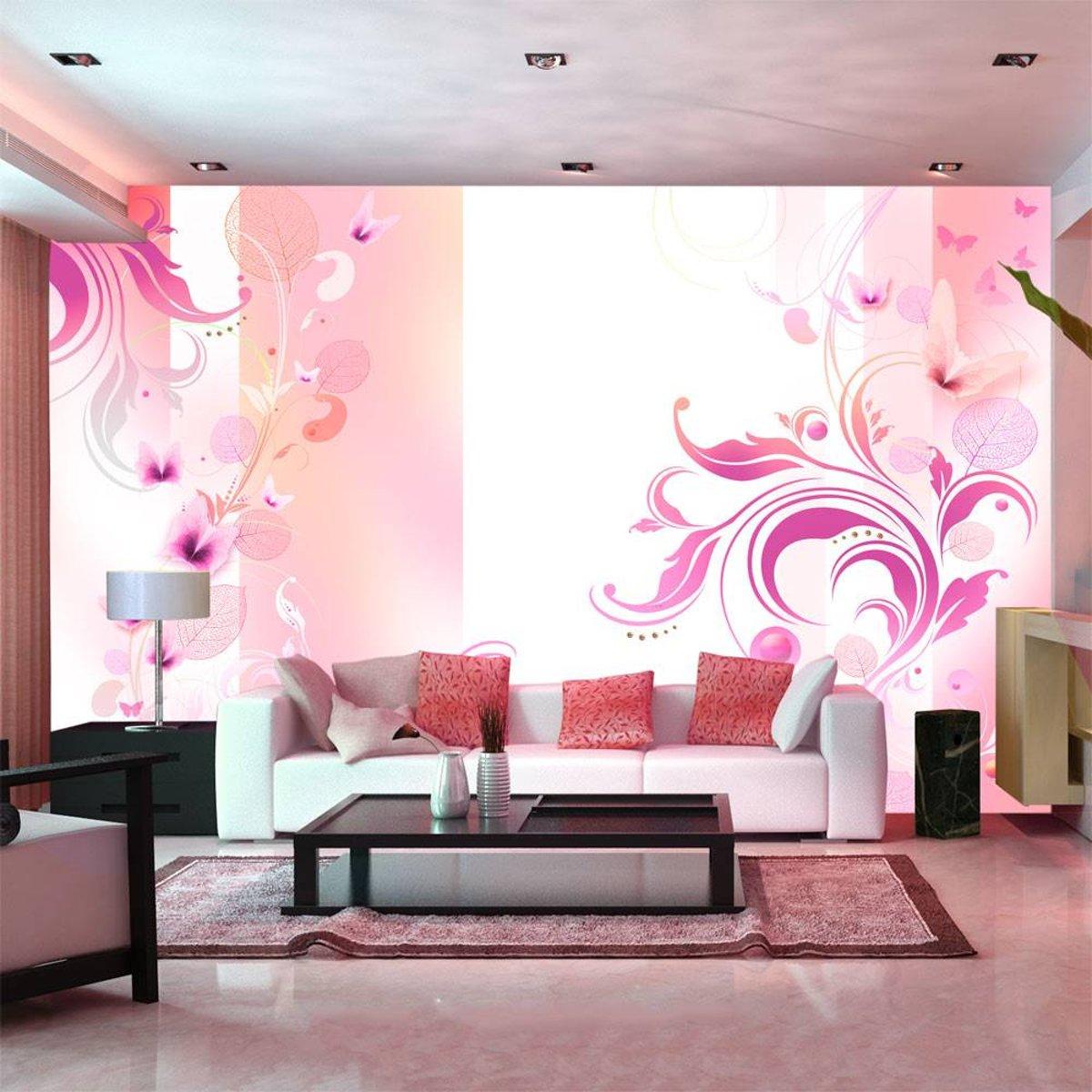 Fotobehang - Roze passie kopen