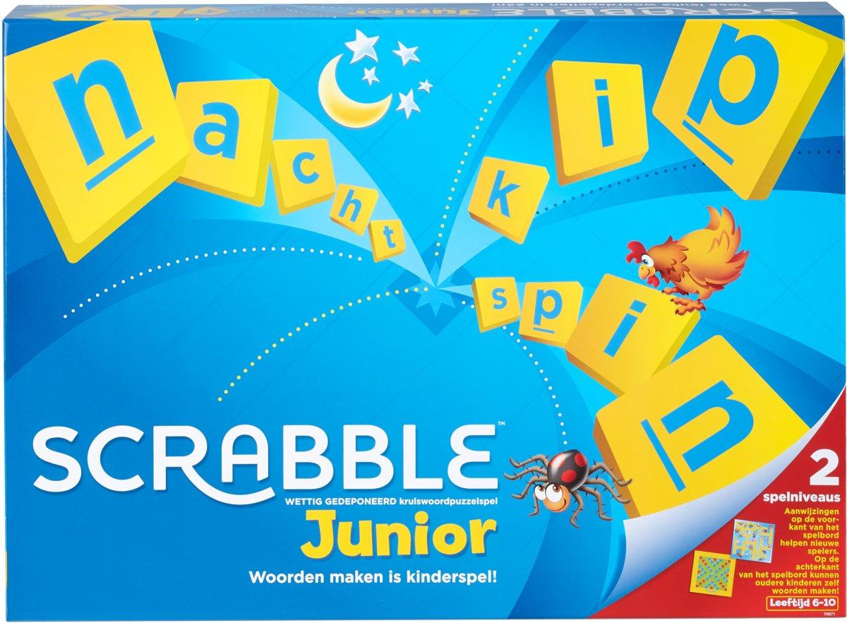 Bolcom Scrabble Junior Kinderspel Mattel Speelgoed