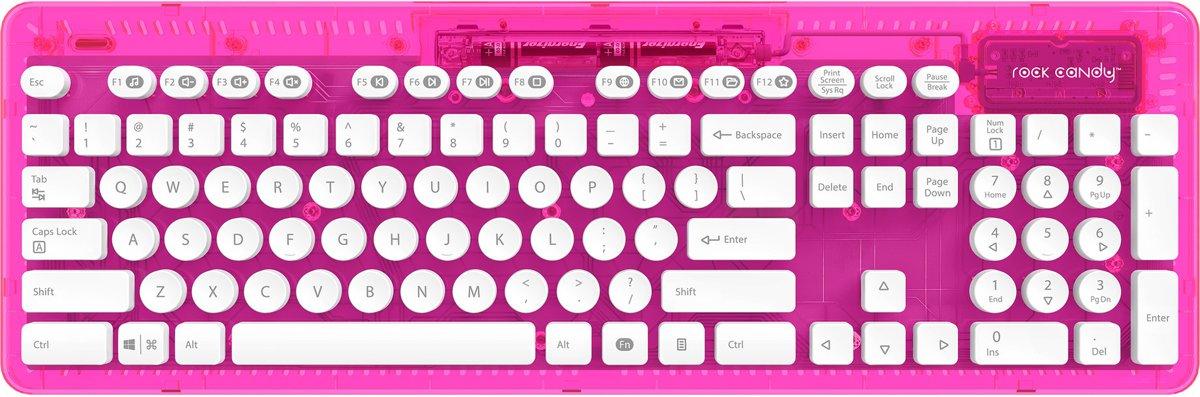 Rock Candy - Draadloos Toetsenbord - Azerty - PC + MAC