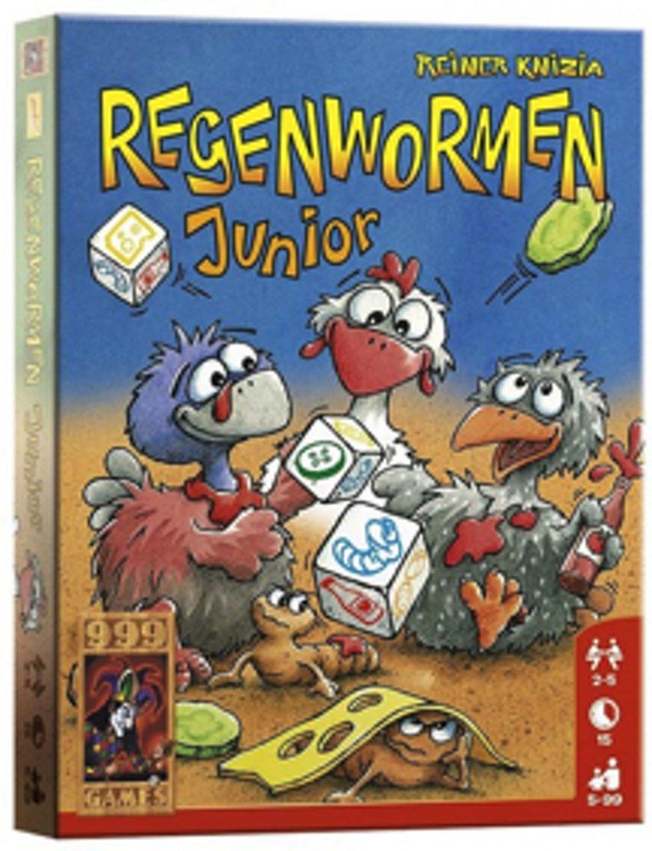 999Games - Regenwormen Junior - Dobbelspel