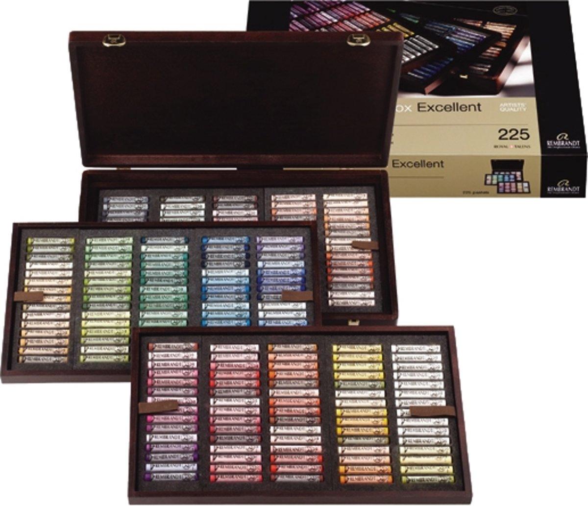 Rembrandt softpastel heel kist 225 kleuren - Excellent kopen