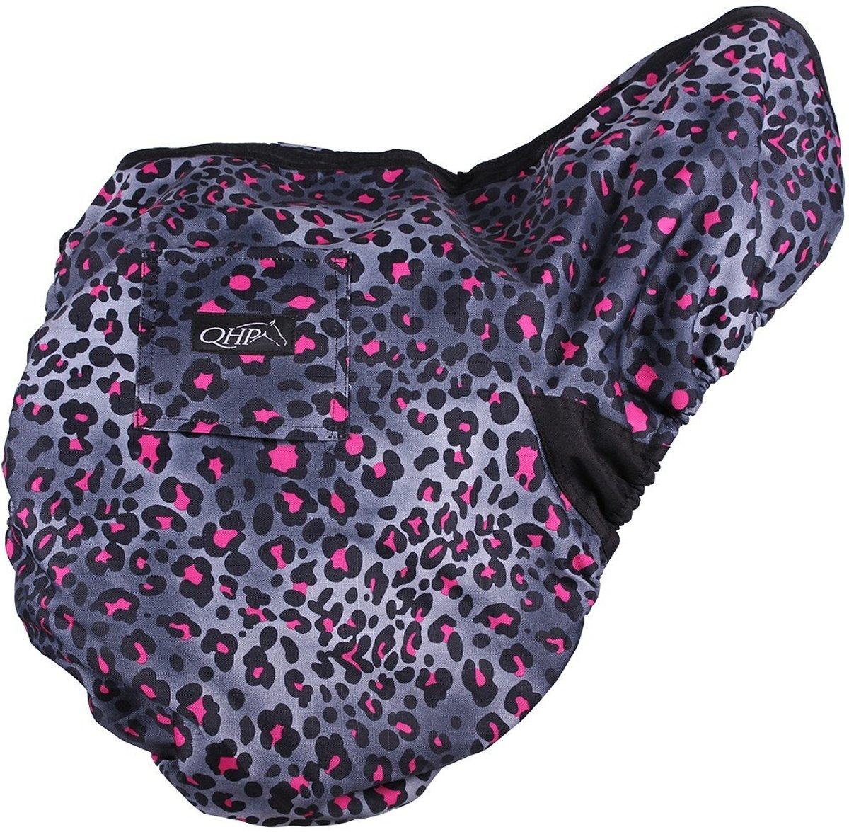 QHP Zadelhoes collection Pink Leopard kopen
