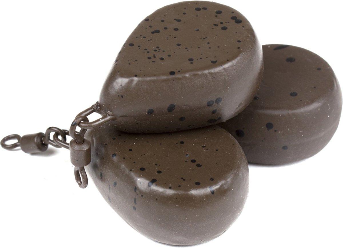 X2 Flat Pear   Karperlood   Bruin   113g   3 stuks