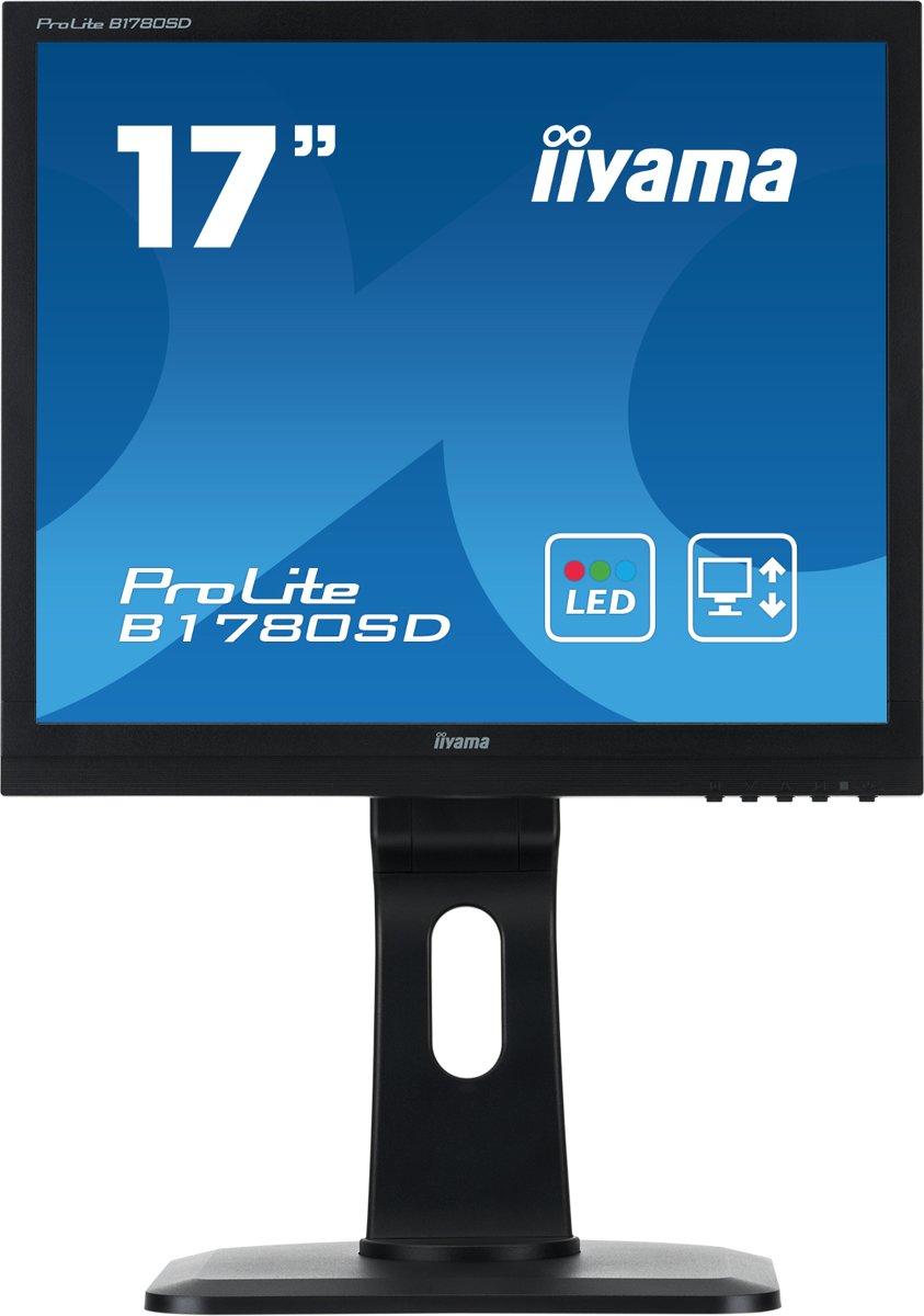 Iiyama ProLite B1780SD - Monitor / Zwart