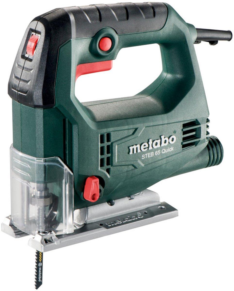 Metabo STEB 65 Quick - Decoupeerzaag - 450 Watt - Gereedschapsloze zaagbladwissel voor €49,95