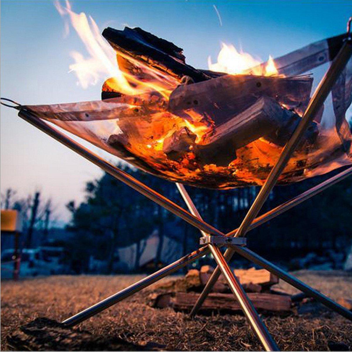 Barbecue, staande op poten met stalen gaasbodem. kopen