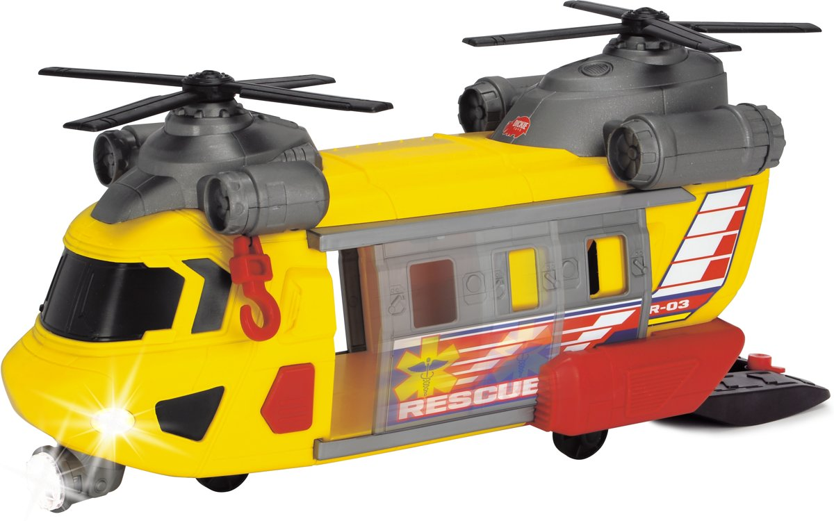 Dickie Action Series - Reddingshelikopter (30cm)