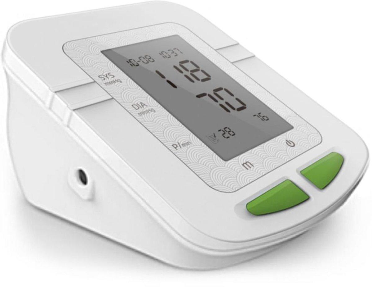 Parcura Bloeddrukmeter bovenarm wit 85823