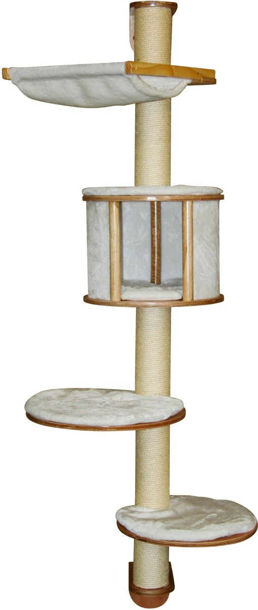 Kerbl Dolomit Muur Krabpaal - Wit - 168 cm