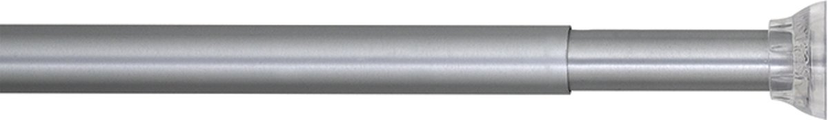 Douchestang Met Veer.Bol Com Sealskin Douchegordijnstang 155 255 Cm Mat Aluminium