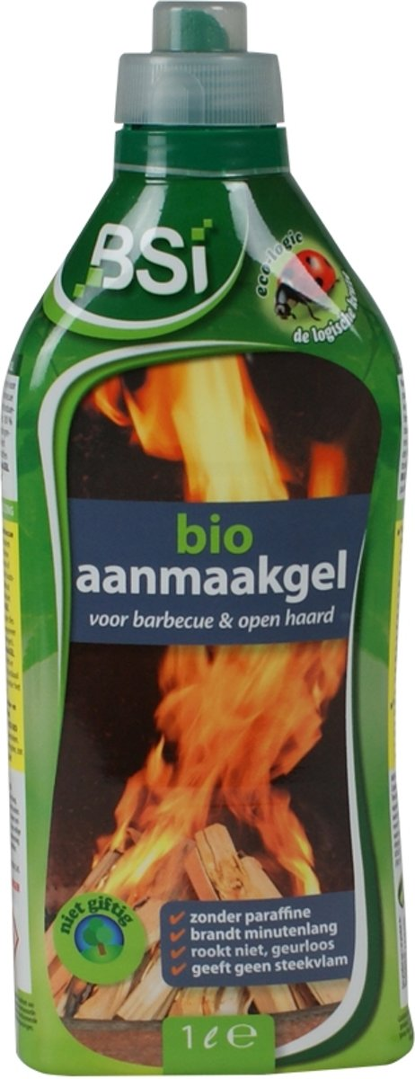 Bio aanmaakgel 1 L - ecologische aanmaakgel voor barbecue en open haard kopen