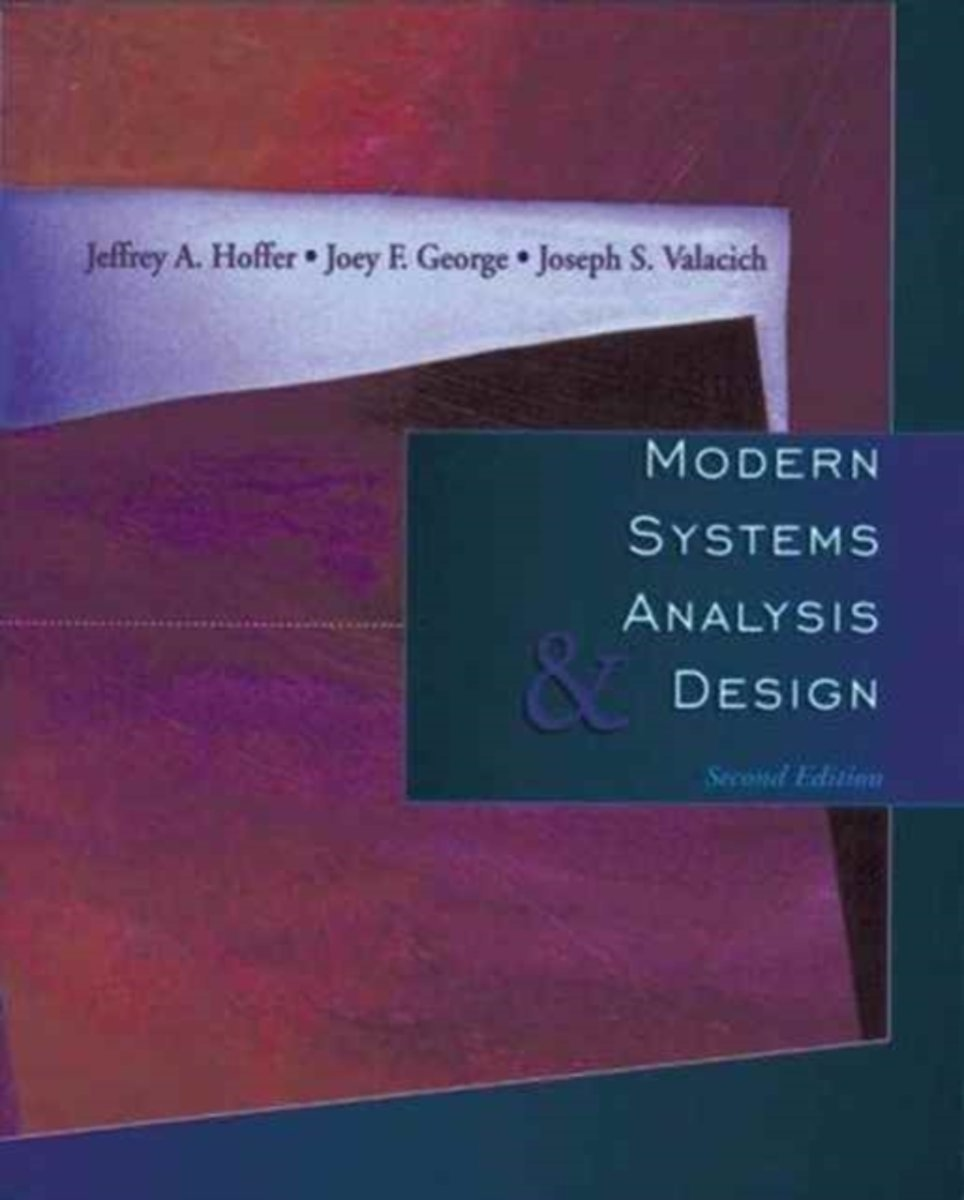 Afbeelding van product Modern Systems and Design  - Jeffrey A. Hoffer