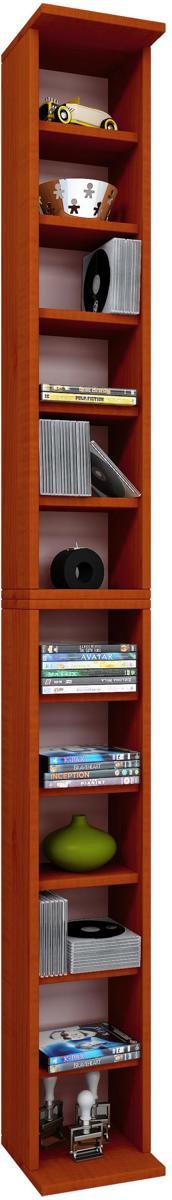 bolcom vakkenkast wandkast bigol cd dvd kersen kleur