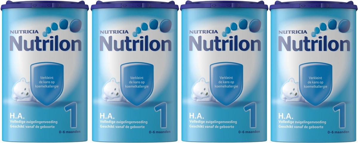 Nutrilon HA 1 - Flesvoeding - 4 x 750 gram kopen