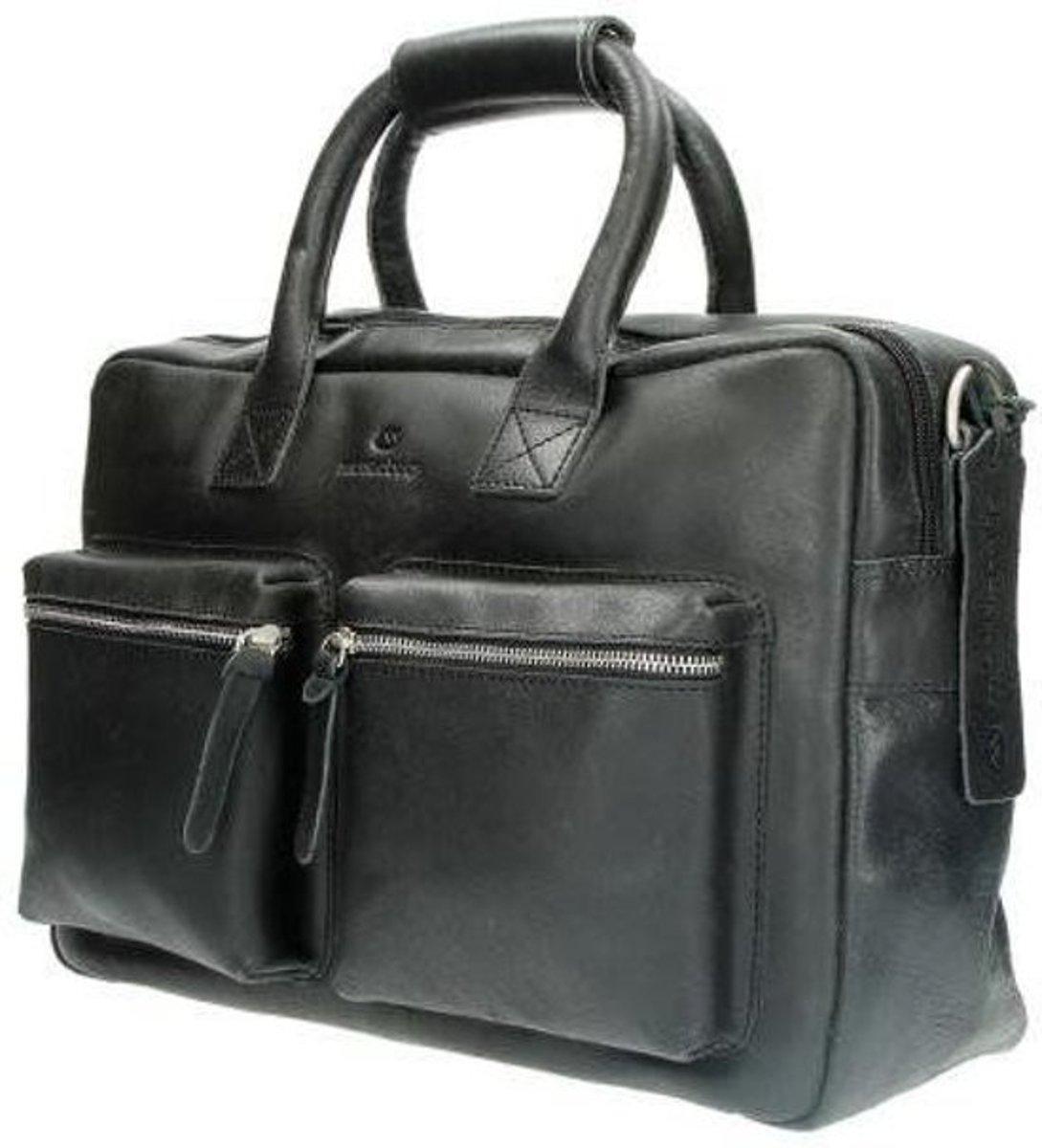 Micmacbags Westernbag Schoudertas Nevada 13.3'' Zwart