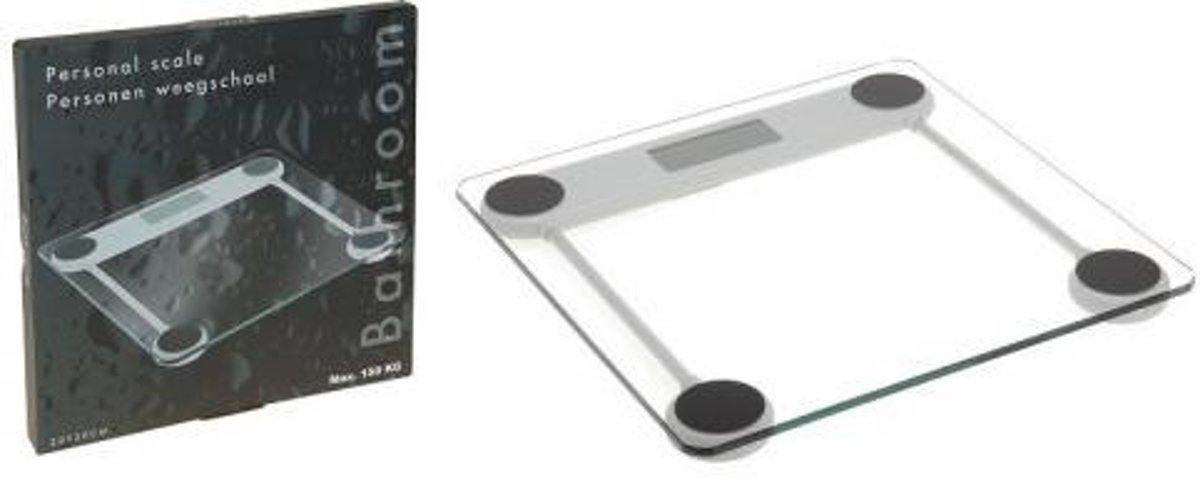 Personen Weegschaal Digitaal - Glas