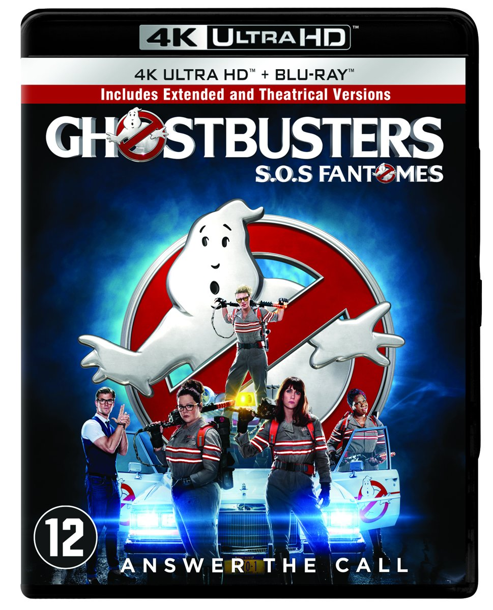 Ghostbusters (2016) (4K Ultra HD Blu-ray)-