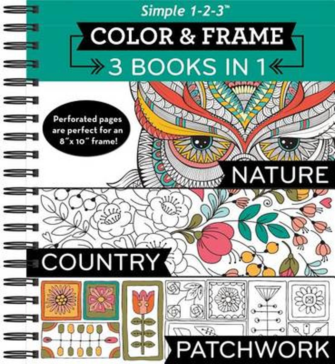 Bolcom Color And Frame 3 In 1 Nature Country Patchwork