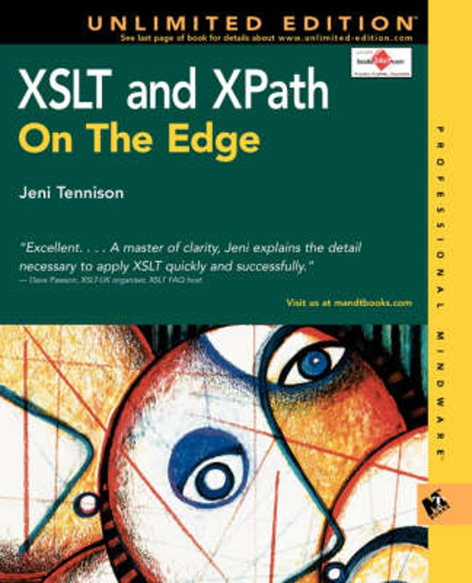 bol.com | XSLT and XPath on the Edge (Unlimited Edition), Jeni Tennison |  9780764547768 | Boeken