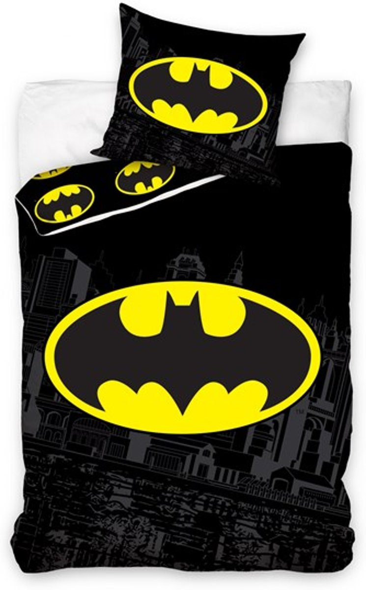 Batman Dekbedovertrek Zwart kopen