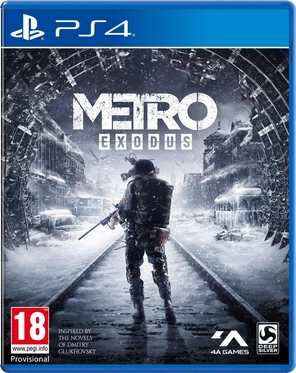Metro Exodus PlayStation 4