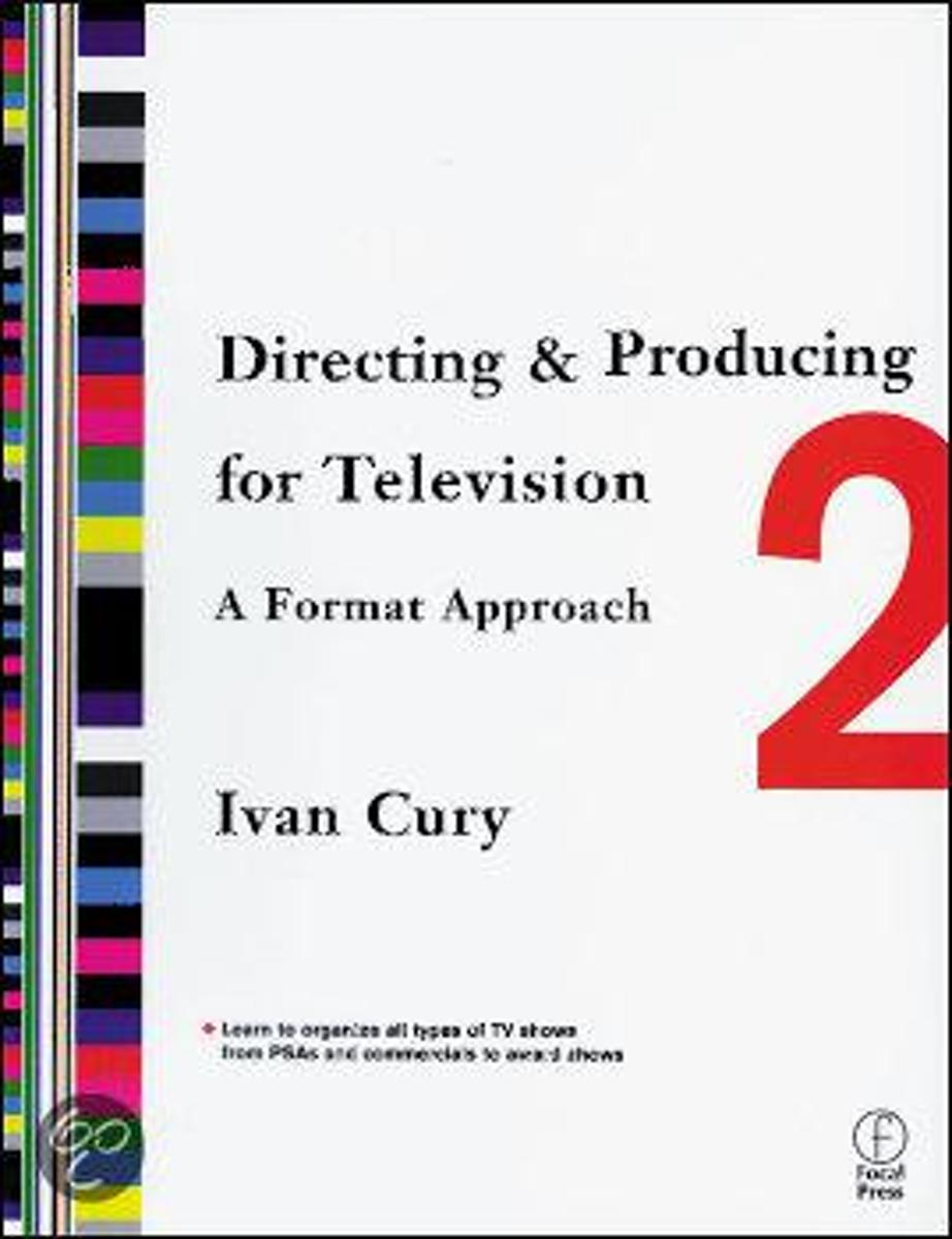 Afbeelding van product Directing And Producing For Television  - Ivan Cury