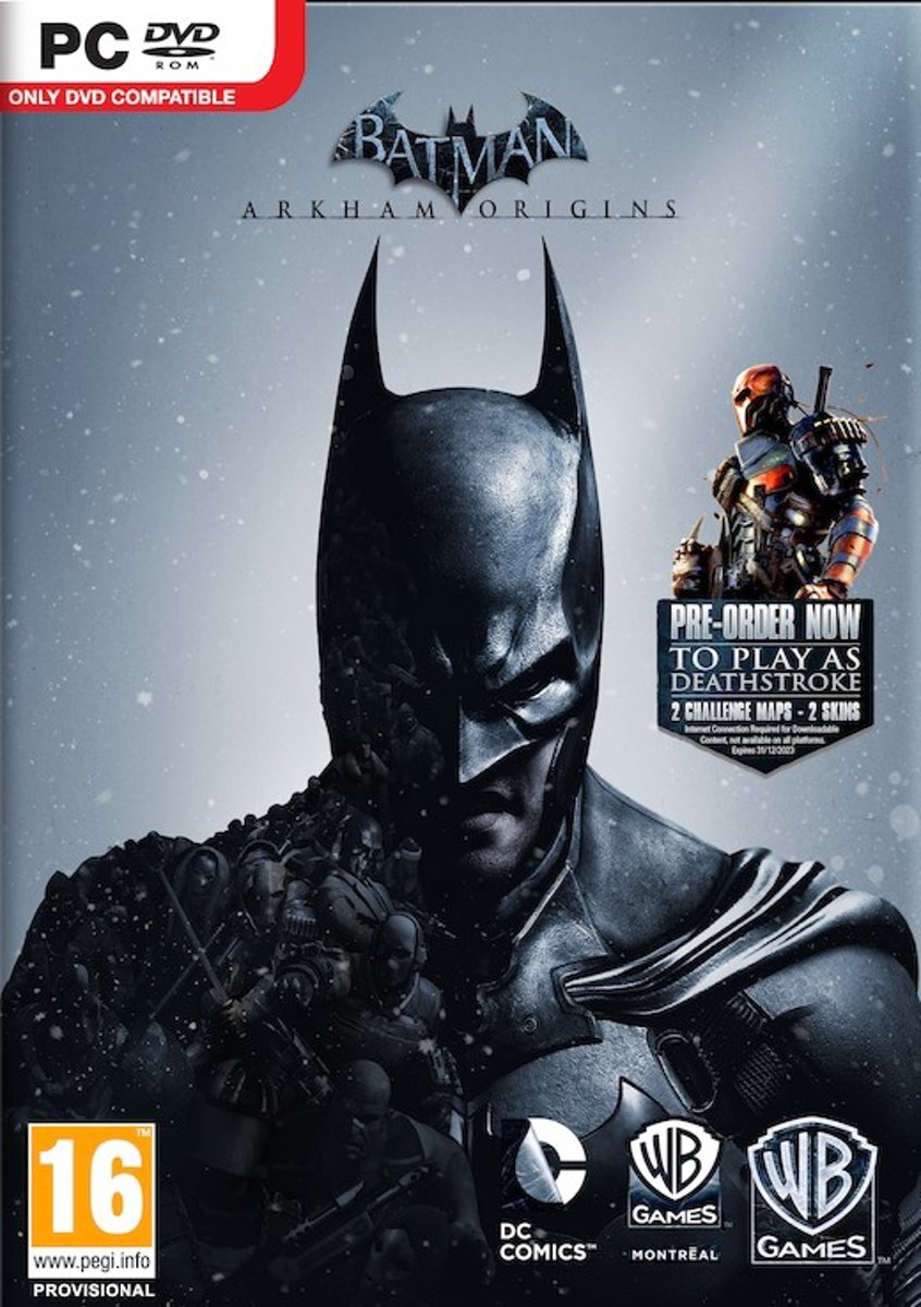 Batman Arkham Origins /PC - Windows kopen