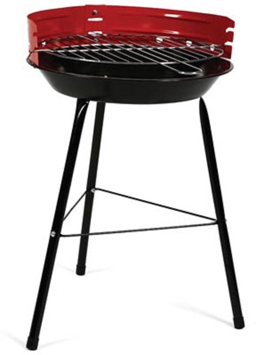 Perel ronde BBQ barbecue houtskool - Ø 31.5 cm