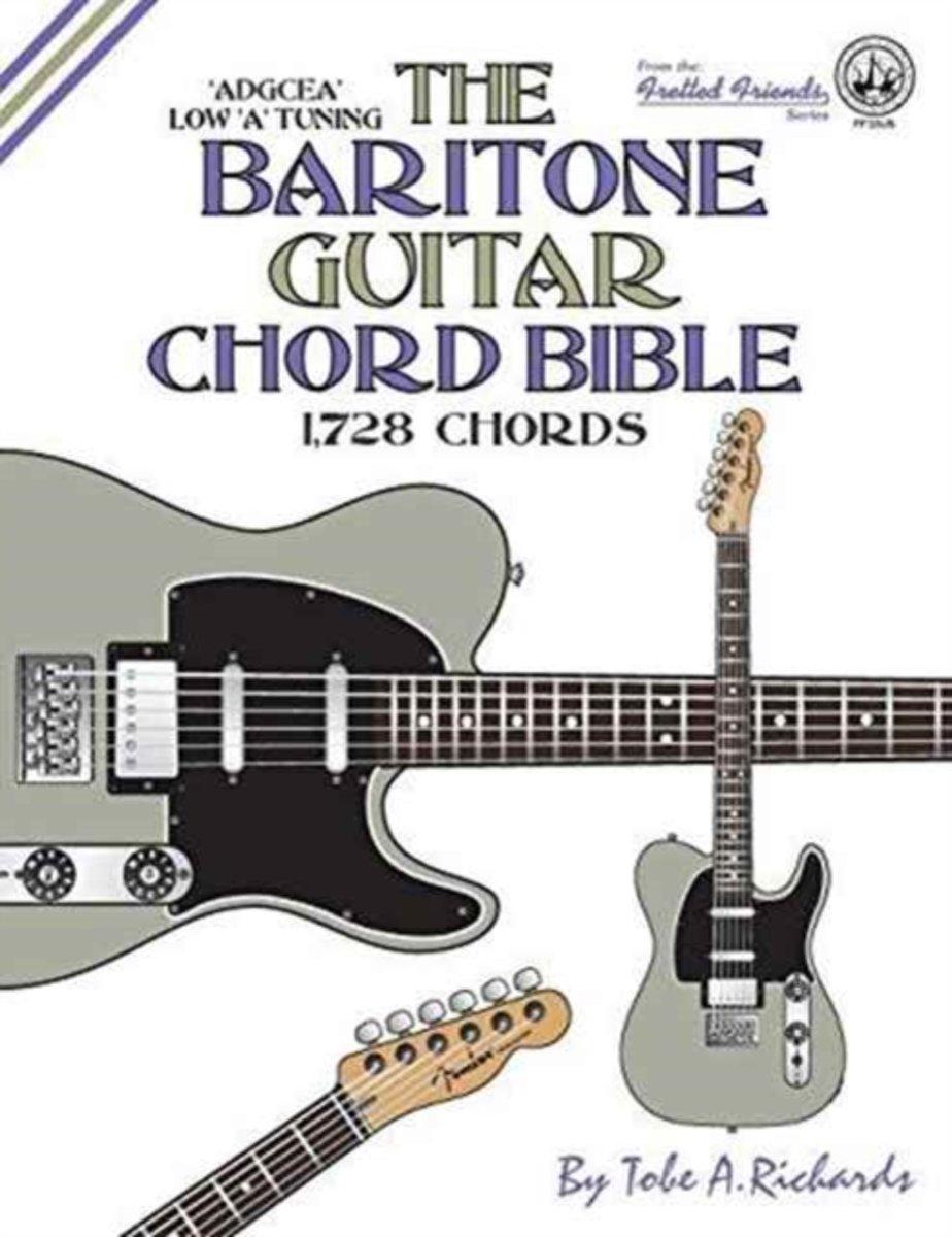 Bol The Baritone Guitar Chord Bible Low A Tuning 1728 Chords