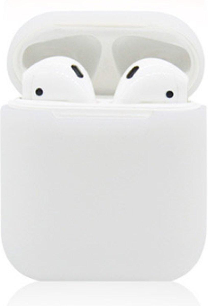 KELERINO. Siliconen hoesje voor Apple Airpods Softcase - Transparant kopen